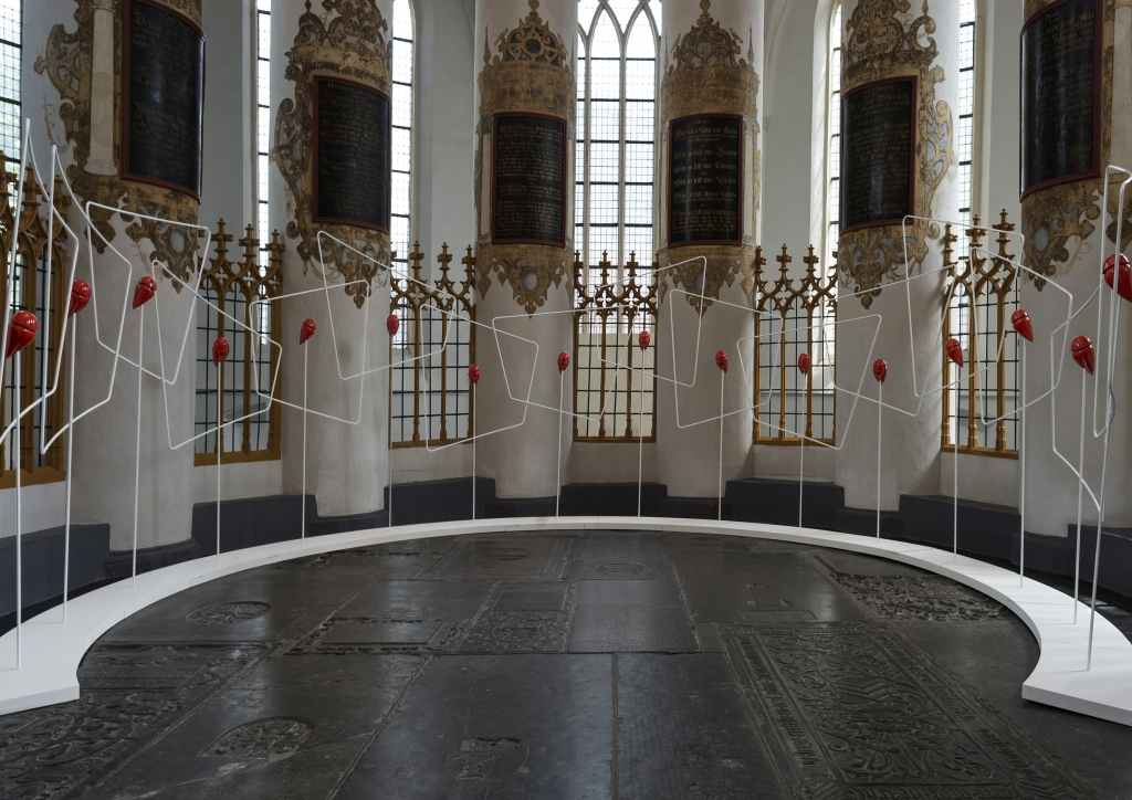 Exhibition view Der Aa-Church in Groningen