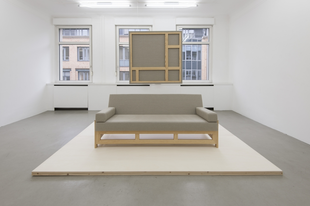 exhibition views at Gallery Sturm Stuttgart