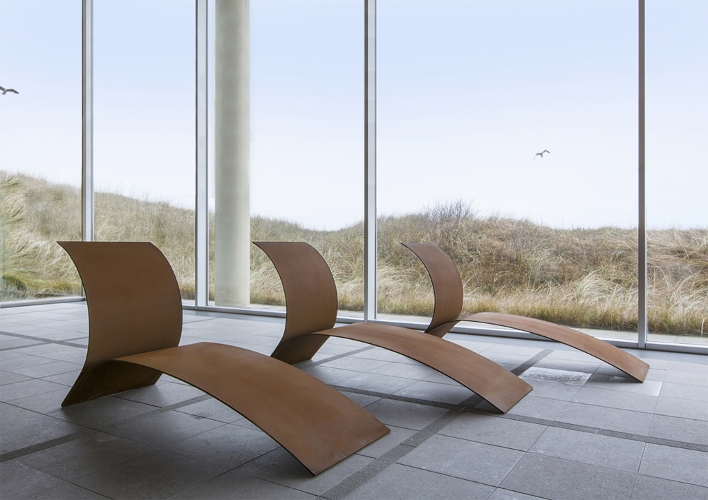 'Lounge Chair' at Museum Sculptures at Sea, The Hague