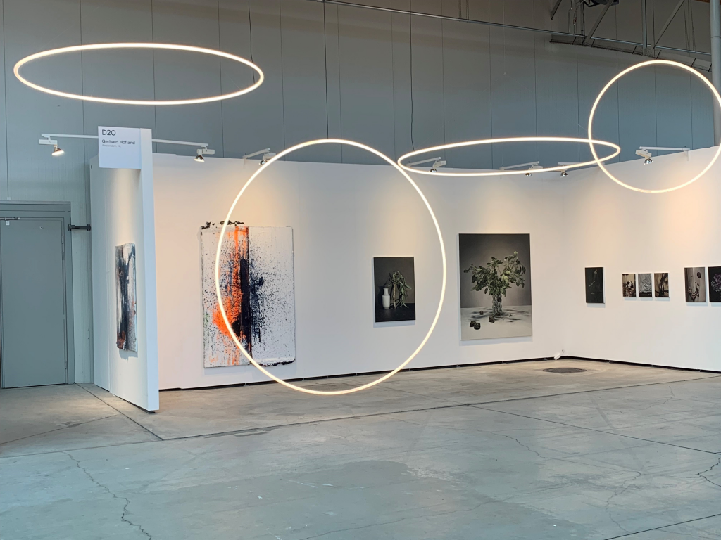 'light consellation 'at viennacontemporary 2019 exhibition view